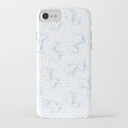 Origami Koi Fishes (Porcelain Version) iPhone Case