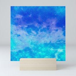 Sweet Blue Dreams Mini Art Print