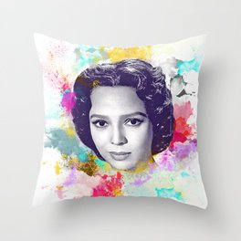 Dorothy Dandridge II Throw Pillow