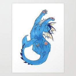Vaporeon Art Print