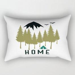 Wilderness Home Rectangular Pillow
