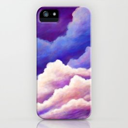 Dreaming of Clouds iPhone Case