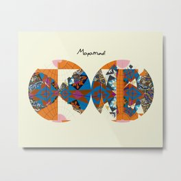 mapamundi II Metal Print
