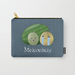 Melancholy Melons Carry-All Pouch