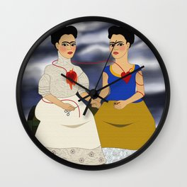 Frida Kahlo - Ladies Fridas Wall Clock