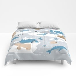 Arctic animals Comforters