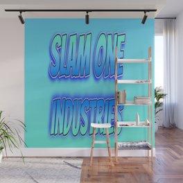 Slam 1 Industries Blue Baby Wall Mural