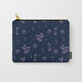 Sparkly Crystals Carry-All Pouch