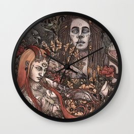 Demons In Colour Wall Clock
