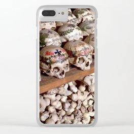 """Hallstatt, Austria Beinhaus """"Bone House"""" Clear iPhone Case"""