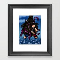 La pêche miraculeuse Framed Art Print