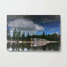 Reflection at Colchuck Lake Metal Print
