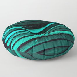 We Have Cold Winter Teal Dreams At Night Floor Pillow