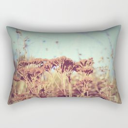 plants - Retro  Rectangular Pillow