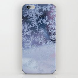 Frozen whispers iPhone Skin