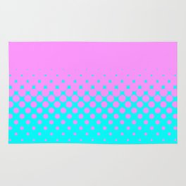 Pink to Blue Rug