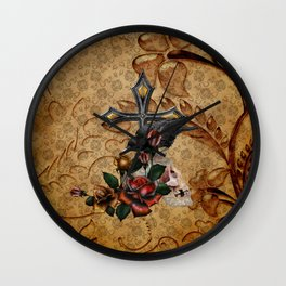 Gothic Autumn Wall Clock