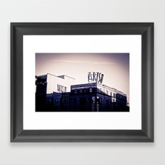Arts on Broad Framed Art Print