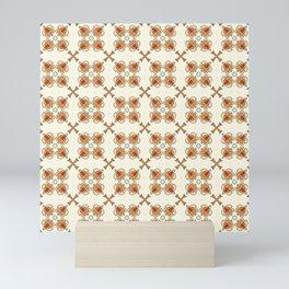 Beige Mosaic 2 Mini Art Print