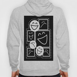 Smiles And Frowns Hoody