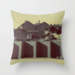 Museo de la memoria Throw Pillow