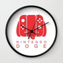 Nintendo Doge Wall Clock