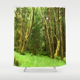 Lush Rain Forest Shower Curtain