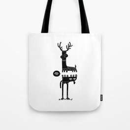 Two Beasts Tote Bag