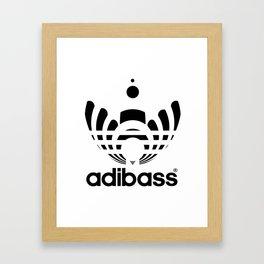 dj adibass Framed Art Print