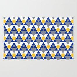 Modern Winter Pattern Rug