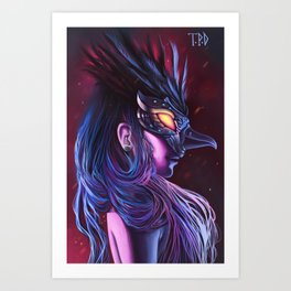 Odile Art Print
