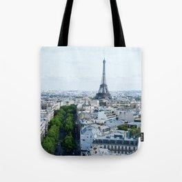 Eiffle Tower Tote Bag