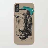 totem iPhone & iPod Cases featuring Totem by Mauricio Cosío