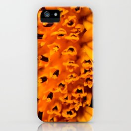 In your face yellow iPhone Case