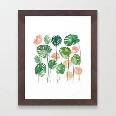 TROPICAL CREATION Framed Art Print