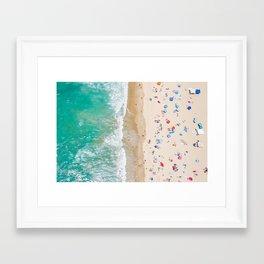 Colors of Manhattan Beach California Framed Art Print