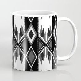 B&W Ikat #society6 #ikat Coffee Mug
