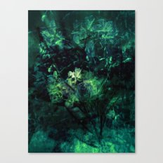 Green bouquet Canvas Print