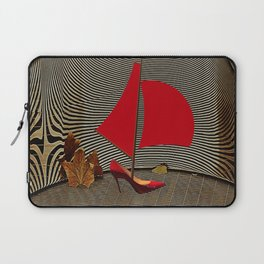 May Parking in the Museum - shoes stories Laptop Sleeve