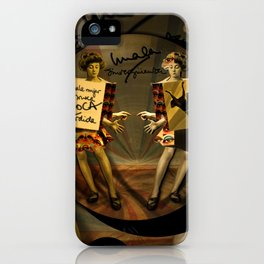 """Mala mujer"" iPhone Case"