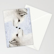 Polar Fox Profile Stationery Cards