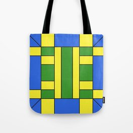 They were all yellow... blue and green Tote Bag
