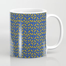 Royal Doves Blue Coffee Mug