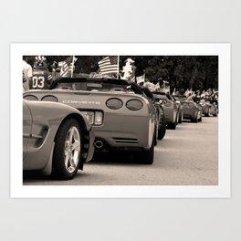 Corvette Love Art Print
