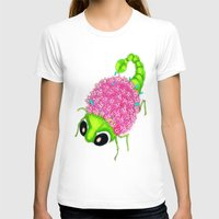 insect T-shirts featuring Flower Insect by KeijKidz