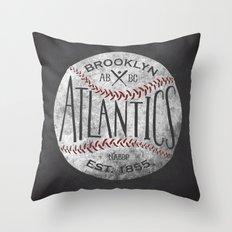 Brooklyn Atlantics  Throw Pillow