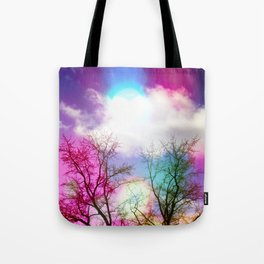 Flavored Skies  Tote Bag