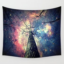 Hope Starts With Perception Wall Tapestry