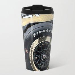 gold time Travel Mug
