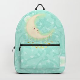 Woman in the Moon Backpack